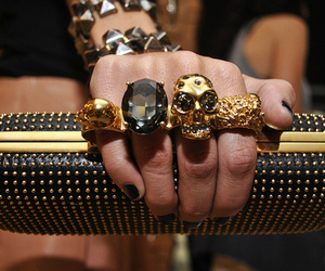 Alexander McQueen, fashion, and clutch image