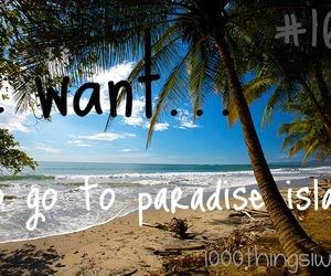 Island and paradise image