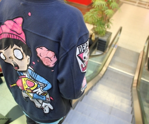 drop dead, jacket, and lol image
