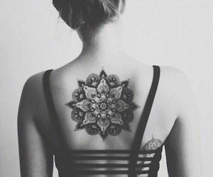 girl, grunge, and tatto image