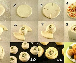 food, diy, and pizza image