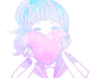 kawaii, heart, and pastel image