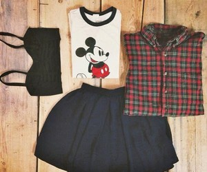 clothes, fashion, and micky mouse image