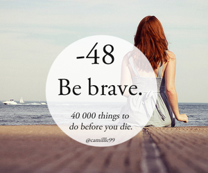 brave, girl, and love image
