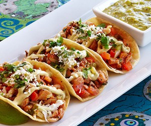 food, hungry, and tacos image
