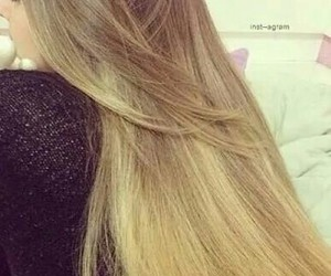 blond, hair, and long hair image