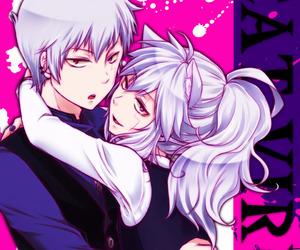 anime girl, kawaii, and neko image