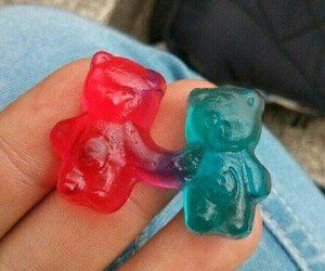 love, bear, and candy image