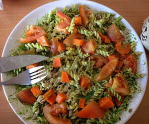 carrot, food, and pasta image