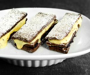 custard, sandwich, and pie crust image