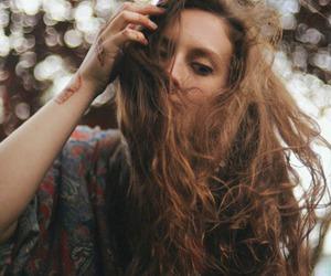 beauty, girl, and wild image