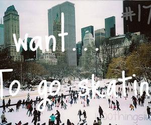 skating and winter image