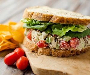 delicious, food, and sandwich image