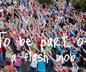 flash mob image