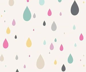 colors, patterns, and rain image