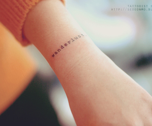 ink, wrist, and wander lust image