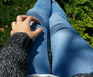 fashion, vans, and grass image