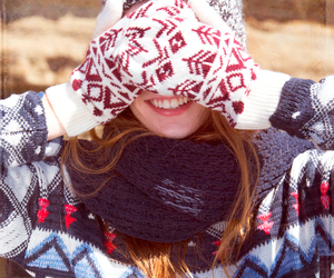 winter, beanie, and hollister image