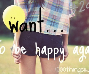 happy, smile, and 1000 things i want image