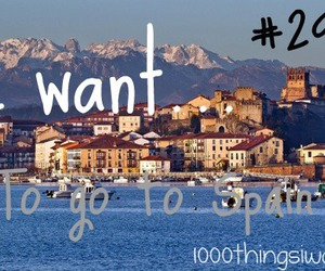 spain and 1000 things i want image