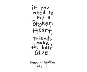 quote, friends, and love image