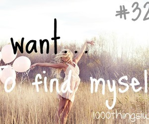 myself and 1000 things i want image