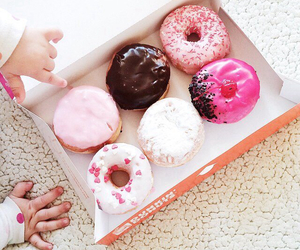 donuts, food, and baby image