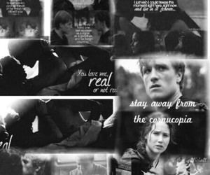 catching fire, hungergames, and panem image
