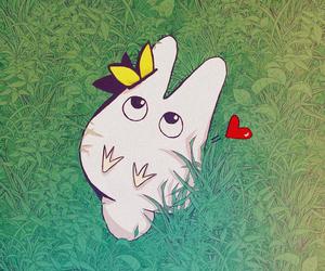 anime, kawaii, and My Neighbor Totoro image