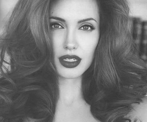 Angelina Jolie, beautiful, and Pin Up image