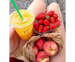 food, fruit, and fitness image