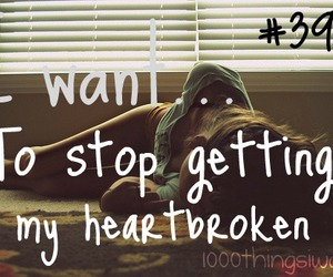 broken heart and 1000 things i want image