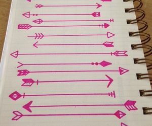 arrow, creative, and decoration image