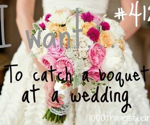 wedding and 1000 things i want image