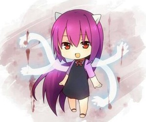 Lucy and elfen lied image