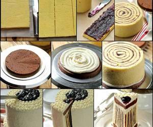 cake, diy, and food image