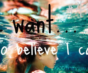 i can and 1000 things i want image