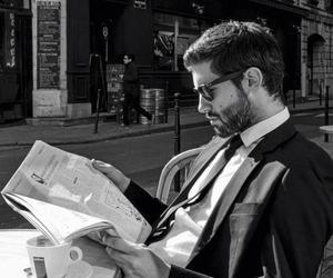 boy, suit, and gentleman image
