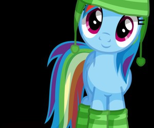 my little pony, tierno, and rainbow dash image
