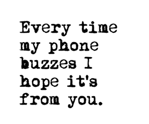 hope, miss you, and phone image