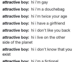 attractive, boys, and depressing image