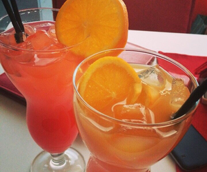 Cocktails, tequilasunrise, and sexinthebeach image