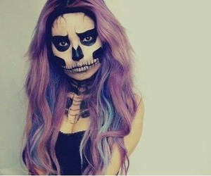 awsome, girl, and Halloween image
