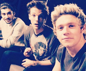 one direction, niall horan, and zayn malik image