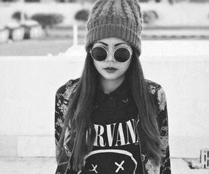nirvana, grunge, and hipster image