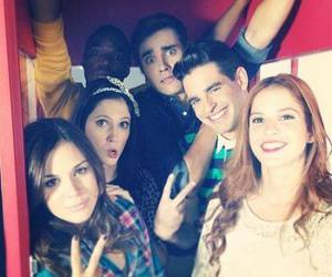 violetta, cande, and jorge blanco image