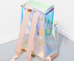 fashion, bag, and holographic image