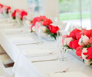 flowers, wedding, and luxury image