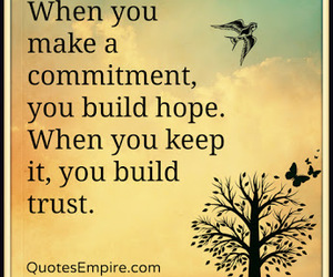 Build, quote, and hope image