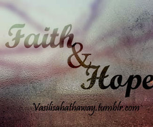 faith, typography, and hope image